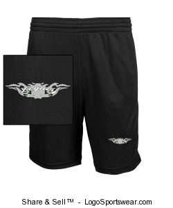 Adult Pocketed Micro Mesh Short Design Zoom